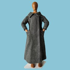 Beautiful vintage wool coat for doll