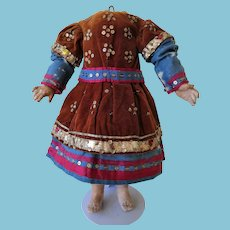 Ancient Dress Burmese style.