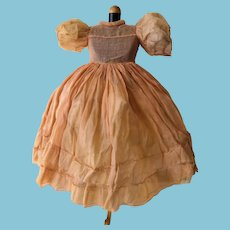 Vintage Organza doll Dress