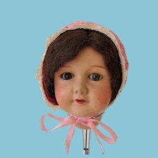 Vintage cotton cap for dolls