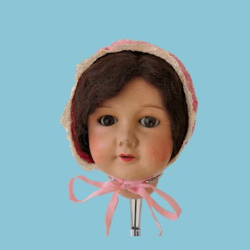 Vintage cotton cap for dolls
