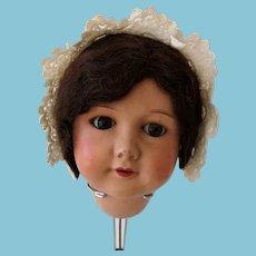 Antique cotton cap for dolls