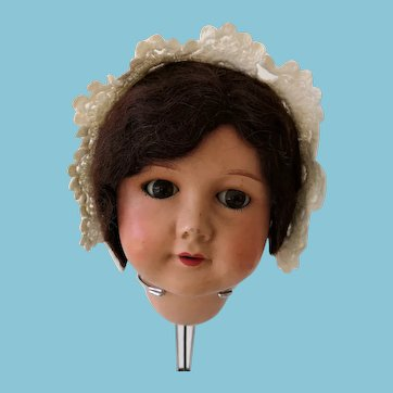 Antique cotton cap for dolls