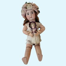 """10"""" Rare and small French Doll J. Steiner Fre A 3"""