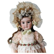 Beautiful Dress and bonnet for French and German dolls