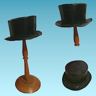 Really wonderful Top Hat for doll 1900
