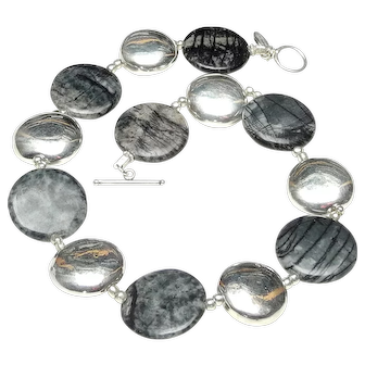 Picasso Jasper and Sterling Silver