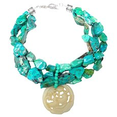 The Vibrant Impact of Turquoise Chrysocolla & Celadon Jade