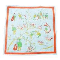 . Vintage 1920's Child' Handkerchief