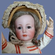 Sensitive German Character Child  K*R 117A Kammer & Reinhardt 22 Inch Collectors Dream