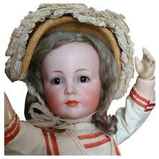 Sensitive German Character Child  K*R 117A Kammer & Reinhardt 22 Inch Collectors Dream