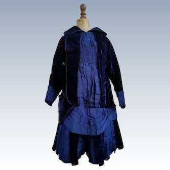 Child's Dress Circa 1880 for Large French Bebe Reserved for R
