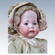 Precious German Pouty Art Character Toddler Fany A.M 231 Seldom Found Largest size 19 Inch