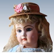 Tete Jumeau French Bebe Size 12 Exceptional and Dreamy