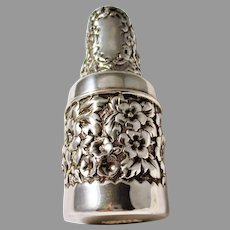 Gorham  Sterling Silver Shaving Brush Canister