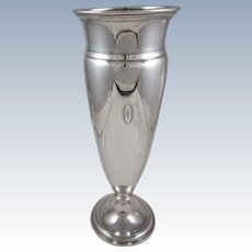 Tiffany Sterling Silver Vase
