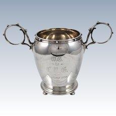 Gorham Coin Silver Vase