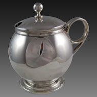 Ball & Black  .950 Silver Condiment Pot