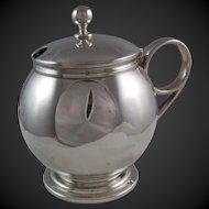 Ball & Black  .950 Silver Condiment Pot