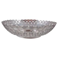 German .800 Silver Candy Dish