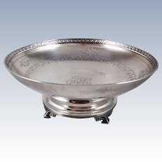 Tiffany Sterling Silver Footed Bowl