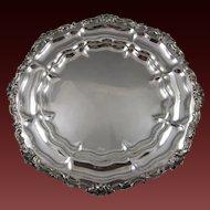 Czechoslovakian .800 Silver Tray