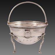 Tiffany Sterling Silver Medallion Design Bowl