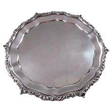 Italian .800 Silver Tray
