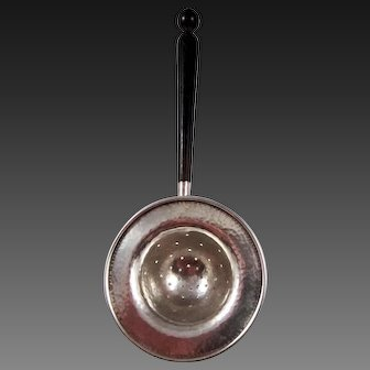 Sterling Silver Tea Strainer by Goodnow & Jenks