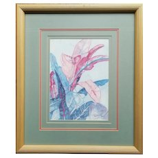 Betty Neubauer Signed & Numbered Limited Edition Print Framed & Matted 23x27 (L)