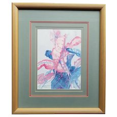 Betty Neubauer Signed & Numbered Limited Edition Print Framed & Matted 23x27 (R)