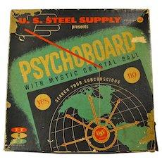 1957 Psychoboard Fortune Telling Pendulum Game