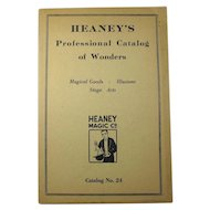 Heaney's Professional Catalog of Wonders - Magical Goods & Illusions