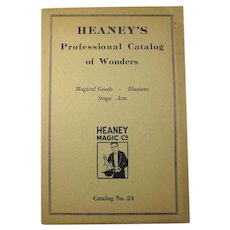 SALE! Heaney's Professional Catalog of Wonders - Magical Goods & Illusions