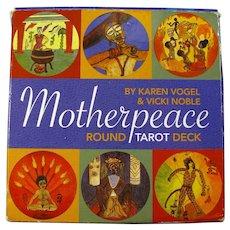 Vintage Motherpeace Round Tarot Deck