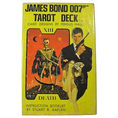 Vintage James Bond 007 Tarot Card Deck