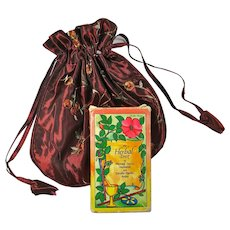Vintage Herbal Tarot Deck With Custom-Made Bag