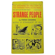 """Strange People"" Vintage Pulp Paperback (1961)"