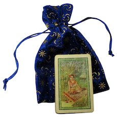 1923 Teuila Fortune Telling Cards With Custom Bag