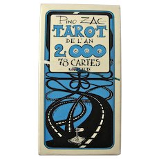 Vintage Pino Zac Tarot de l'an 2000 Card Deck
