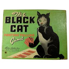 1950s Black Cat Fortune Telling Card Game