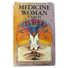 Vintage Medicine Woman Tarot Cards