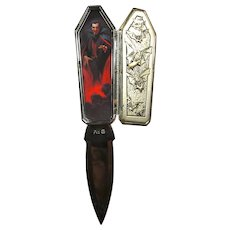 Vintage Dracula Universal Studios Collector's Knife
