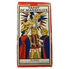 1963 Tarot of Marseilles 78-Card Deck