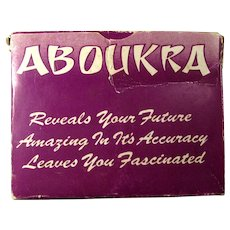 1970 Aboukra Fortune Telling Cards From New Zealand