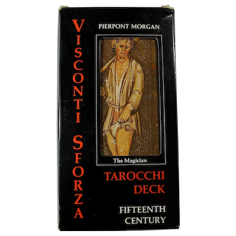 1984 Visconti Sforza Oversized Tarot Cards