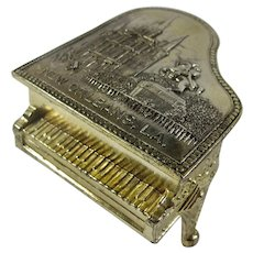 Vintage New Orleans Piano Jewelry Box