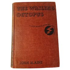 The Wailing Octopus: A Rick Brant Electronic Adventure HC Book by John Blaine (1956)