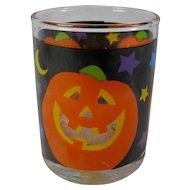 Vintage Halloween Pumpkin Votive Candle Holder