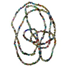 Vintage Czech Glass Mardi Gras Beads From New Orleans